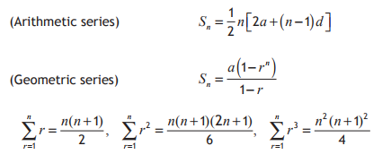 Sum to Infinity - Advanced Higher Maths