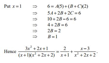 Partial Fractions - Advanced Higher Maths